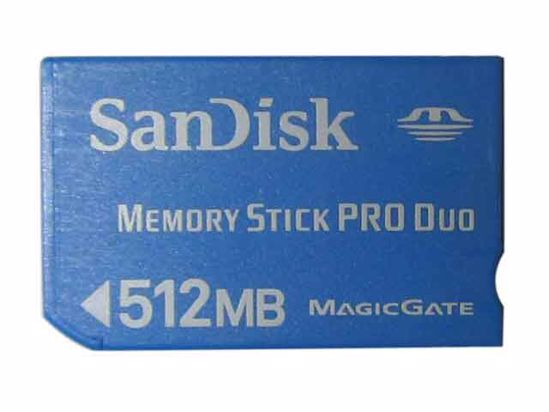 MS PRO DUO512MB