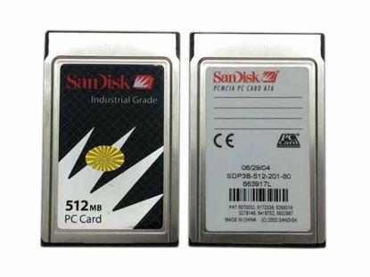 PC512MB, Industrial Grade, SDP3B-512-201-80, 86397
