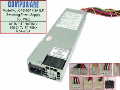 CPS-5611-3A1LF, PWS-562-1H, 672042030644, REV:1.0