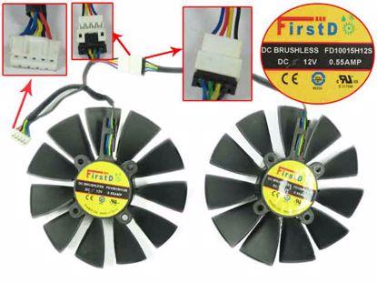 FD10015H12S, 2 Fans