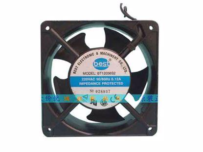 BT12038S2, Steel alloy frame