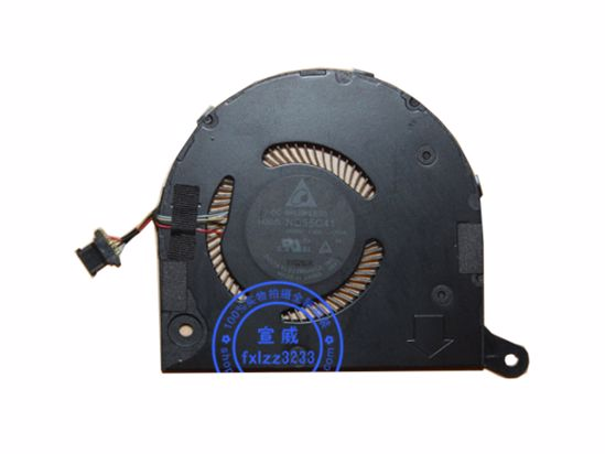 Picture of Acer Swift 5 SF514-52T Cooling Fan ND55C41, 17C06, 5V  0.5A, 4-wire 4-pin connector, NEW