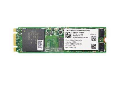 Picture of Intel SSDSCKJB240G7R SSD M.2 NGFF 140GB - 512GB 919J9 0919J9 SSDSCKJB240G7R