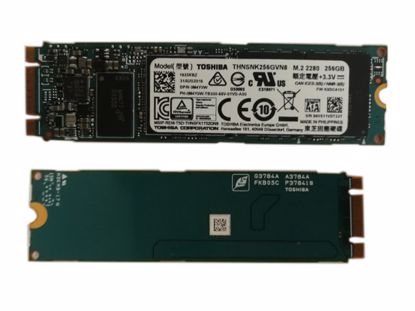 Picture of Toshiba  THNSNK256GVN8 SSD M.2 NGFF 140GB - 512GB THNSNK256GVN8 0M4Y0W M4Y0W