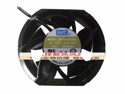 Picture of AVC DBTD1551B8G Server-Round Fan DBTD1551B8G, P034