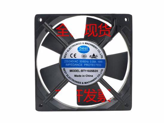 Picture of Best BT11025B2H Server-Square Fan BT11025B2H