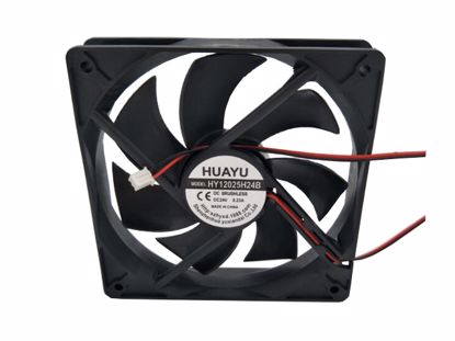 Picture of HUAYU HY12025H24B Server-Square Fan HY12025H24B