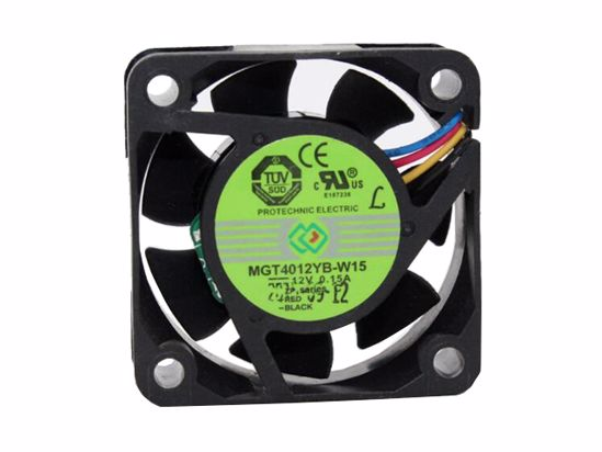 Picture of  Protechnic Magic MGT4012YB-W15 Server-Square Fan MGT4012YB-W15