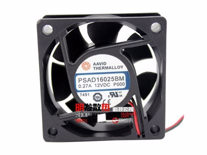 Picture of AAVID PSAD16025BM Server-Square Fan PSAD16025BM
