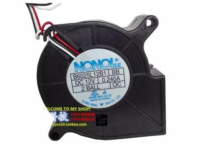 Picture of NONOISE B6025L12B1 Server-Square Fan B6025L12B1, BB