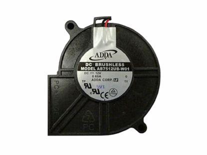 Picture of ADDA AB7512UB-W01 Server-Square Fan AB7512UB-W01, G