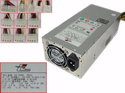 Picture of EMACS / Zippy V2H-5350V Server - Power Supply 350W, V2H-5350V (ROHS), B00V2H0350003