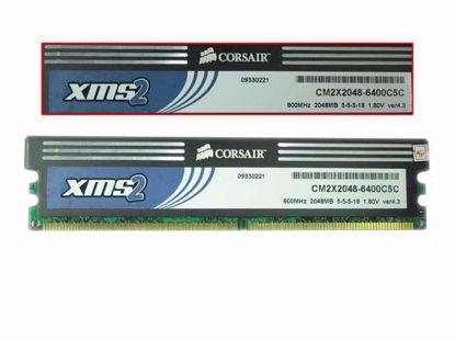 DDR2 -800, PC2-6400, CM2X2048-6400C5C