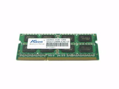 Picture of ASint SSZ3128M8-EAEEF Laptop DDR3-1066 2GB, DDR3-1066, PC3-8500S, SSZ3128M8-EAEEF, Laptop