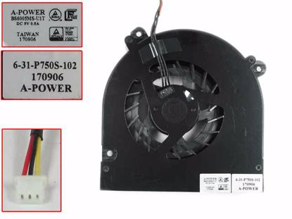 Picture of A-Power 6-31-P750S-102 Cooling Fan  5V 3-Wire, NEW