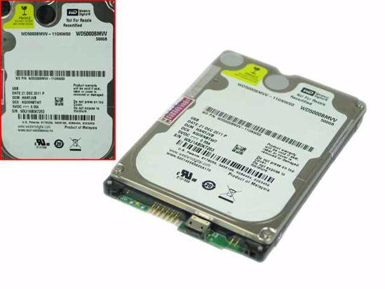 "Picture of Western Digital WD5000BMVV HDD 2.5"" USB 2.0 WD5000BMVV-11GNWS0"