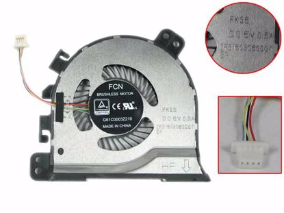 Picture of Toshiba  Tecra X40 series Cooling Fan DFS150305CDOT, FKS5, G61C0003Z210
