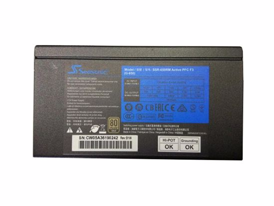 Picture of Seasonic SSR-650RM Server-Power Supply SSR-650RM Active PFC F3