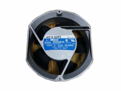 Picture of Japan Servo ACF18-200PS Server-Round Fan ACF18-200PS, Alloy Framed