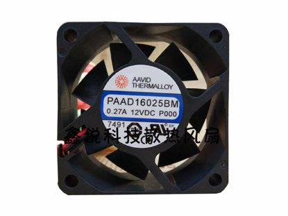 Picture of AAVID PAAD16025BM Server-Square Fan PAAD16025BM