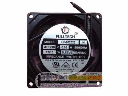 Picture of FULLTECH FU-802523 Server-Square Fan FU-802523, H
