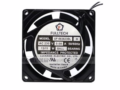 Picture of FULLTECH UF-083823BL Server-Square Fan UF-083823BL, Alloy Framed