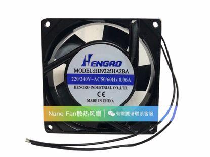 Picture of HENGRD HD9225HA2BA Server-Square Fan HD9225HA2BA