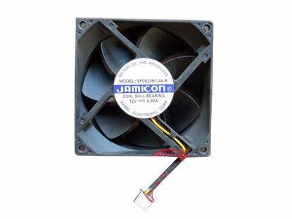 Picture of Jamicon SF0825B1UA-R Server-Square Fan SF0825B1UA-R