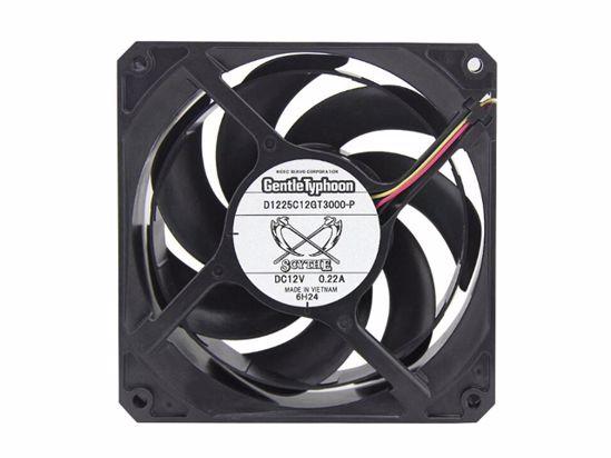 Picture of SCYTEH D1225C12GT3000-P Server-Square Fan D1225C12GT3000-P