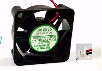 Picture of Young Lin DFB301005L Server Square Fan 5V 0.5W, 30x30x10mm