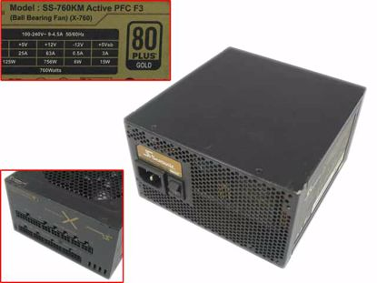 Picture of Seasonic  SS-760KM Server - Power Supply SS-760KM Active PFC F3, 760W