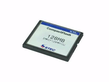 Picture of STEC CF-128MB Card-CompactFlash  128MB CF-I