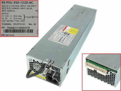 Picture of Xyratex SPAXRTX-03G Server - Power Supply 355W, SPAXRTX-03G, RS-PSU-350-1220-AC, 83712-01