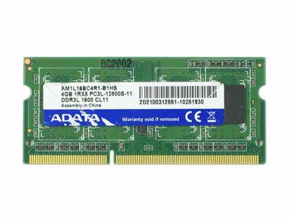 Picture of ADATA AM1L16BC4R1-B1GS Laptop DDR3-1600 4GB, DDR3-1600, PC3L-12800S, AM1L16BC4R1-B1GS, Lap