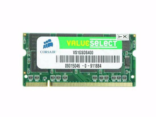 Picture of CORSAIR VS1GSDS400 Laptop DDR-400 1GB, DDR-400, PC3200, VS1GSDS400, Laptop