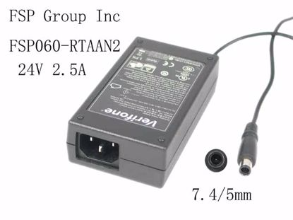 Picture of FSP Group Inc FSP060-RTAAN2 AC Adapter 20V & Above FSP060-RTAAN2