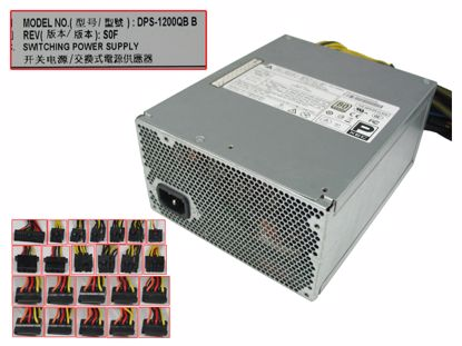 Picture of Delta Electronics DPS-1200QB Server - Power Supply 1200W, DPS-1200QB B