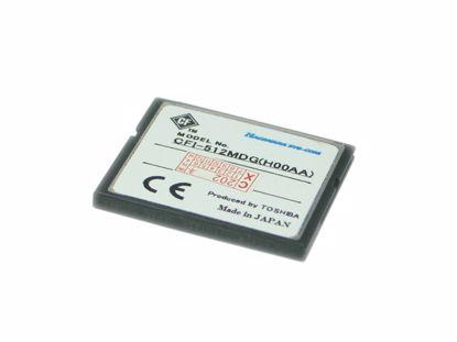 Picture of Toshiba CF-I512MB Card-CompactFlash I 512MB CF-I, 50X 10MB/s