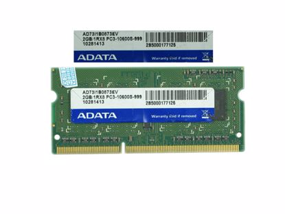 Picture of ADATA AD73I1B0873EV Laptop DDR3-1333 2GB, DDR3-1333, PC3-10600S, AD73I1B0873EV, Laptop