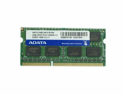Picture of ADATA AM1U16BC4P2-B19H Laptop DDR3-1600 4GB, DDR3-1600, PC3-12800S, AM1U16BC4P2-B19H, Lapt