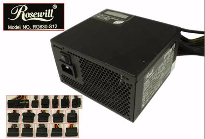 Picture of Rosewill RG630-S12 Server - Power Supply 630W, RG630-S12, New