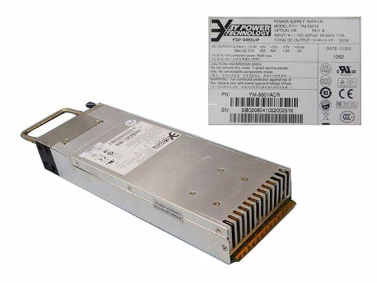 Picture of 3Y Power YM-5501A Server-Power Supply YM-5501A, YM-5501ACR