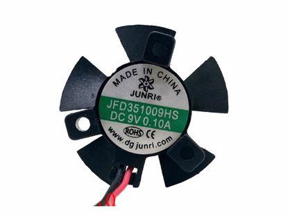 Picture of JUNRI JFD351009HS Server-Frameless / GPU Fan JFD351009HS