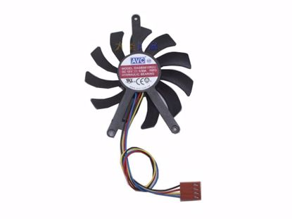Picture of AVC DASB0810R2U Server-Frameless / GPU Fan DASB0810R2U, P0FD