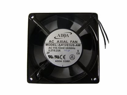 Picture of ADDA AA1281US-AW Server-Square Fan AA1281US-AW, S