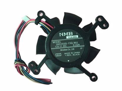Picture of NMB-MAT / Minebea 06025SS-13Q-WU Server-Frameless / GPU Fan 06025SS-13Q-WU