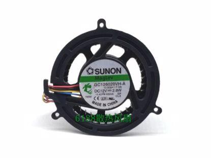 Picture of SUNON GC126020VH-A Server-Frameless / GPU Fan GC126020VH-A, 13.B3941.F.GN
